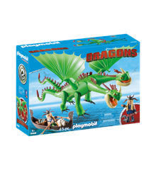 Playmobil - Ruffnut and Tuffnut with Barf and Belch  (9458)