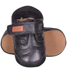 Melton - Lædersko - Velcro