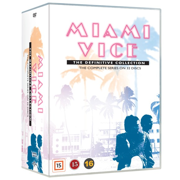 Miami Vice - The Complete Series (32 disc) - DVD