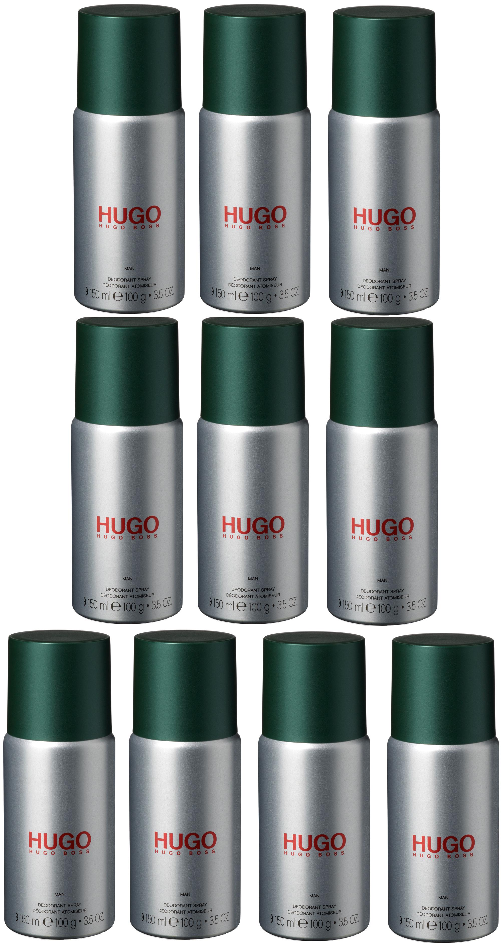 Hugo Boss - 10x Hugo Man Deodorant Spray