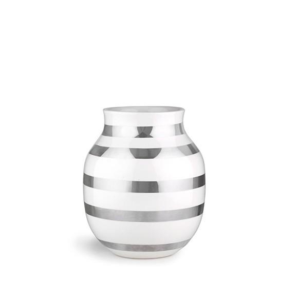 Kähler - Omaggio Vase Medium - Sølv