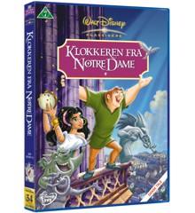 Disneys Klokkeren fra Notre Dame - DVD