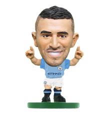 Soccerstarz - Man City Riyad Mahrez - Home Kit (2020 version)