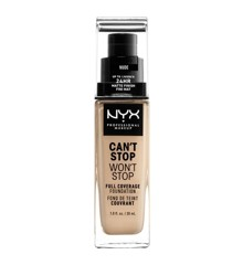 NYX Professional Makeup - Can't Stop Won't Stop Foundation - Nude
