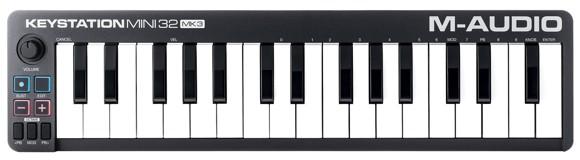 M-Audio - Keystation Mini 32 MK3 - USB MIDI Keyboard