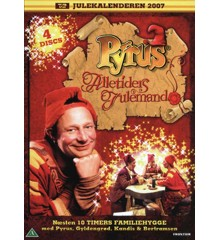 Pyrus i Alletiders Julemand (4-disc) - DVD