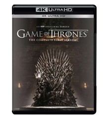 Game of Thrones: Sæson 1 - (4K Blu-Ray)