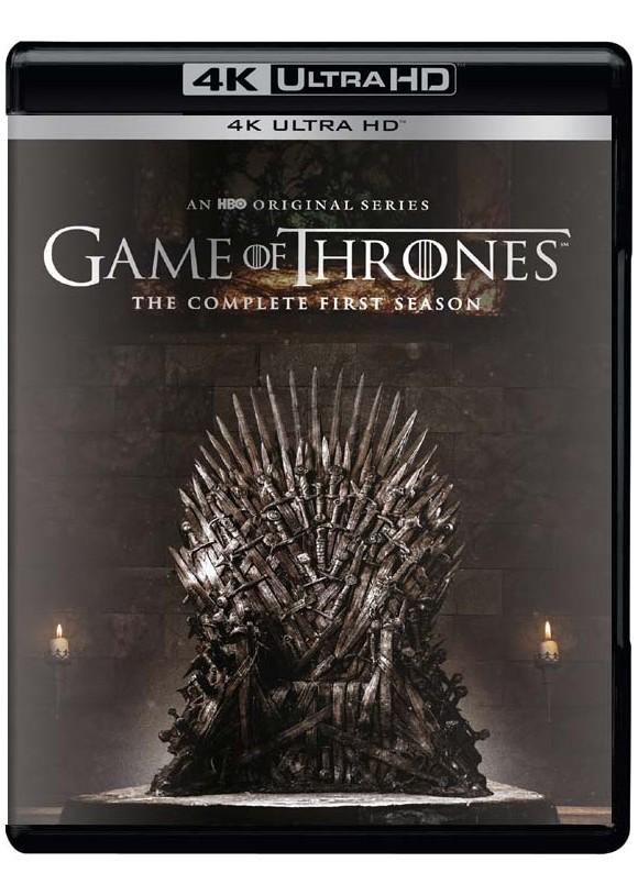 Game of Thrones: Sæson 1 - (4K Blu-Ray)