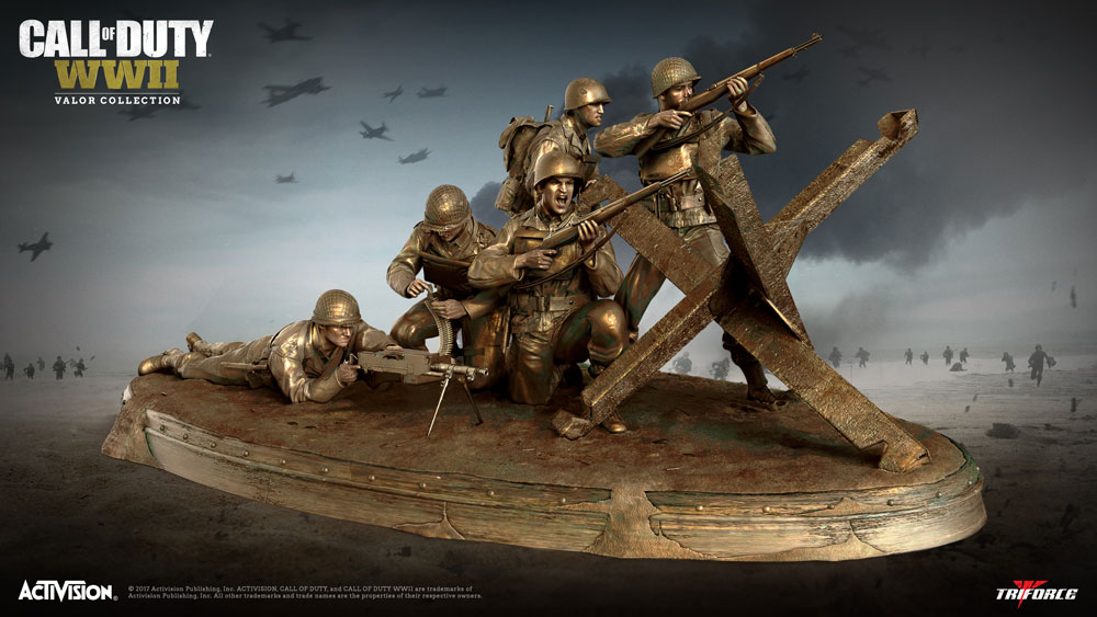 Call Of Duty WW2 Merchandise Activision Collection Call Of