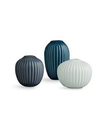Kähler - Hammershøi Vase Miniature 3 pak - Grøn