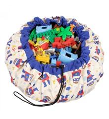 Play & Go - Legetæppe og Opbevarings taske  - Super Hero