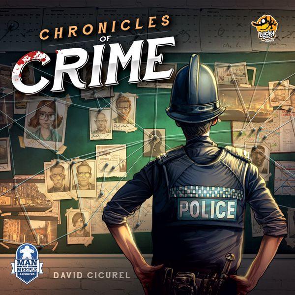 Chronicles of Crime - Brætspil (Engelsk)