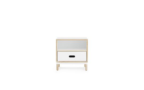 Normann Copenhagen - Kabino Bedside Table - White (601053)