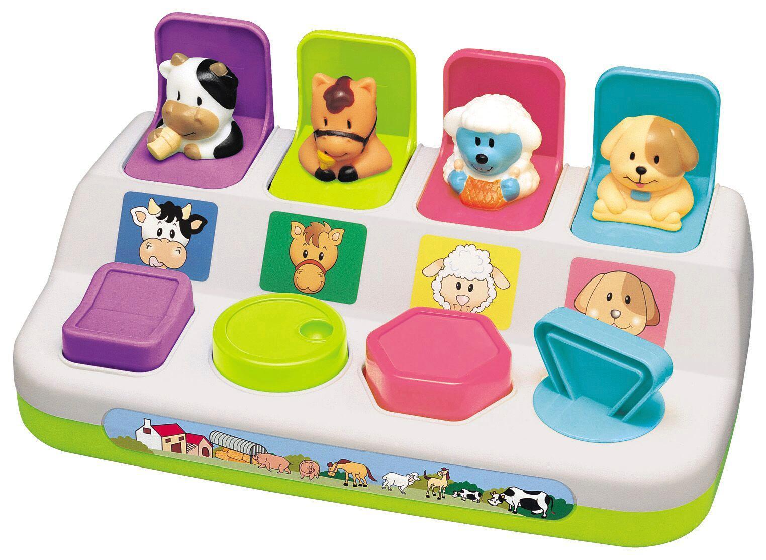 Happy Baby - Pop Up Farm Animals (502043)