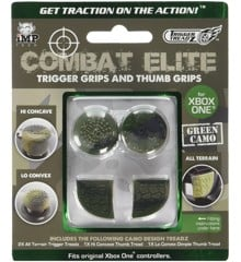 Trigger Treadz: Combat Elite Thumb & Trigger Grips Pack - Green Camo (Xbox One)