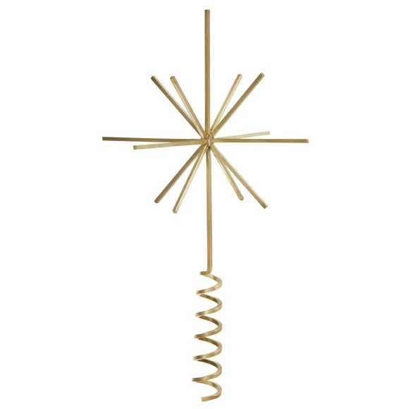 Ferm Living - Christmas Tree Top Star ( 24176)