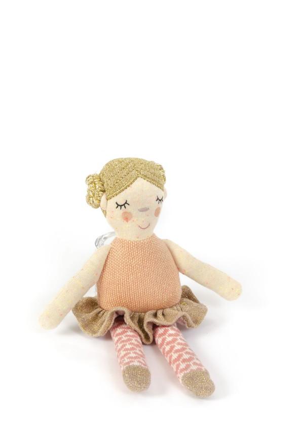 Smallstuff - Aktivitets Dukke - Ballerina