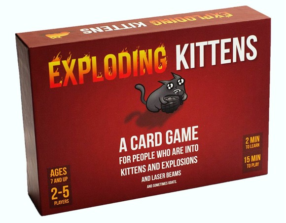 Exploding Kittens (Nordic Original)