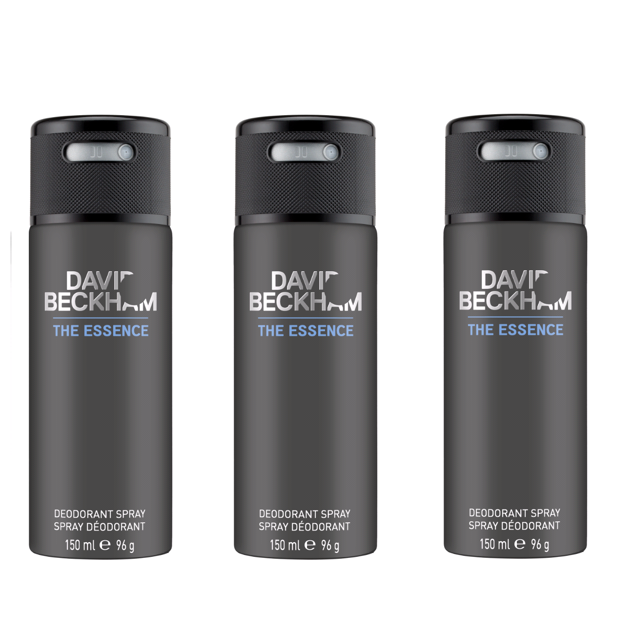 David Beckham - 3x The Essence Deodorant Spray 150 ml