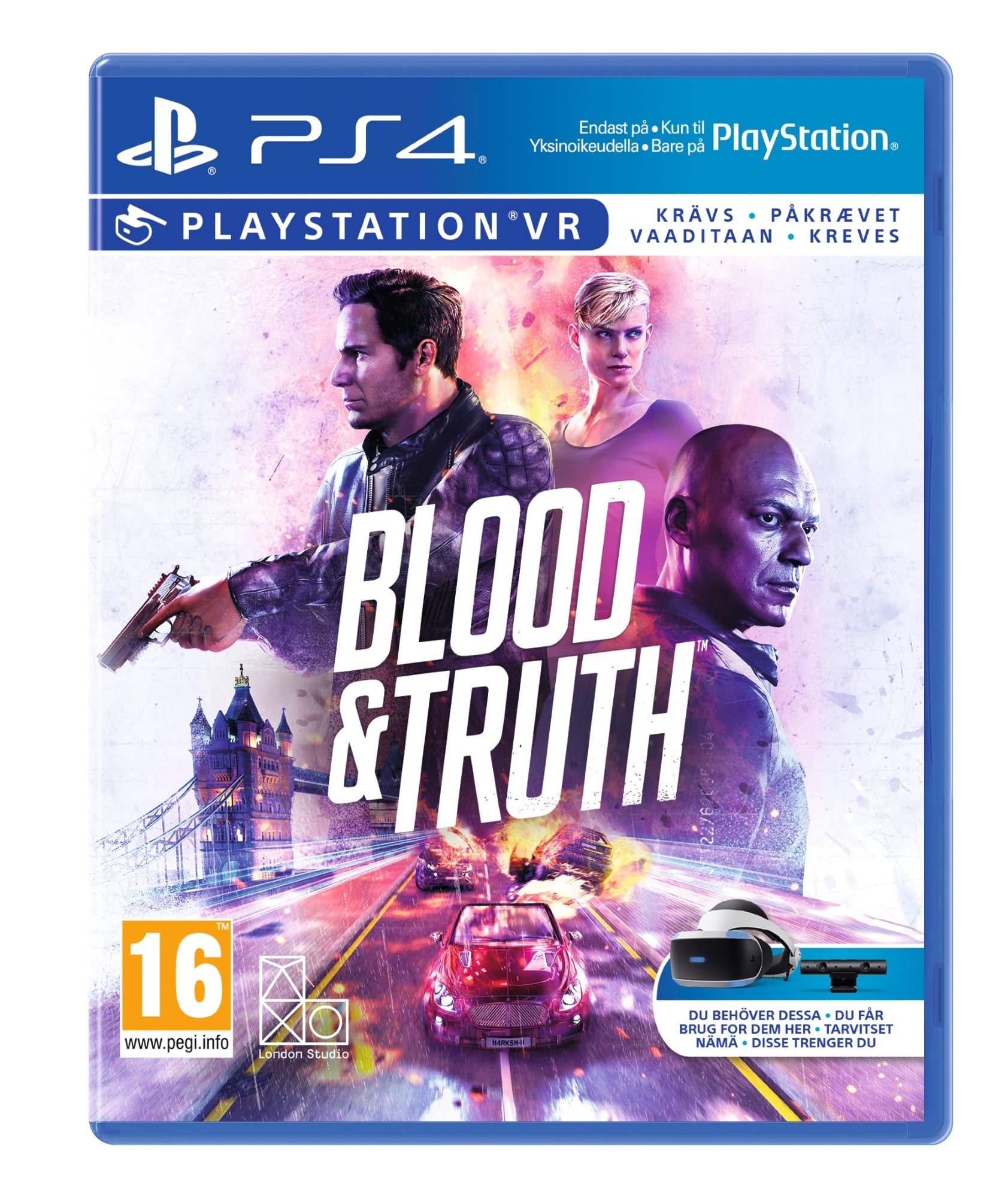 Blood & Truth (PSVR) (Nordic)