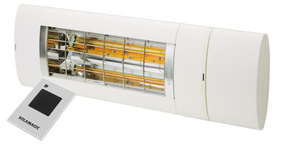 Solamagic 2000 Premium ARC /Remote White - New