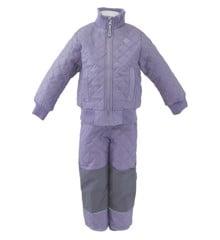 Mikk-line - Basis termosæt med fleece - Lavendel (4003-718)