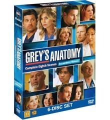 Greys Anatomy/Greys Hvide Verden - saeson 8 - DVD