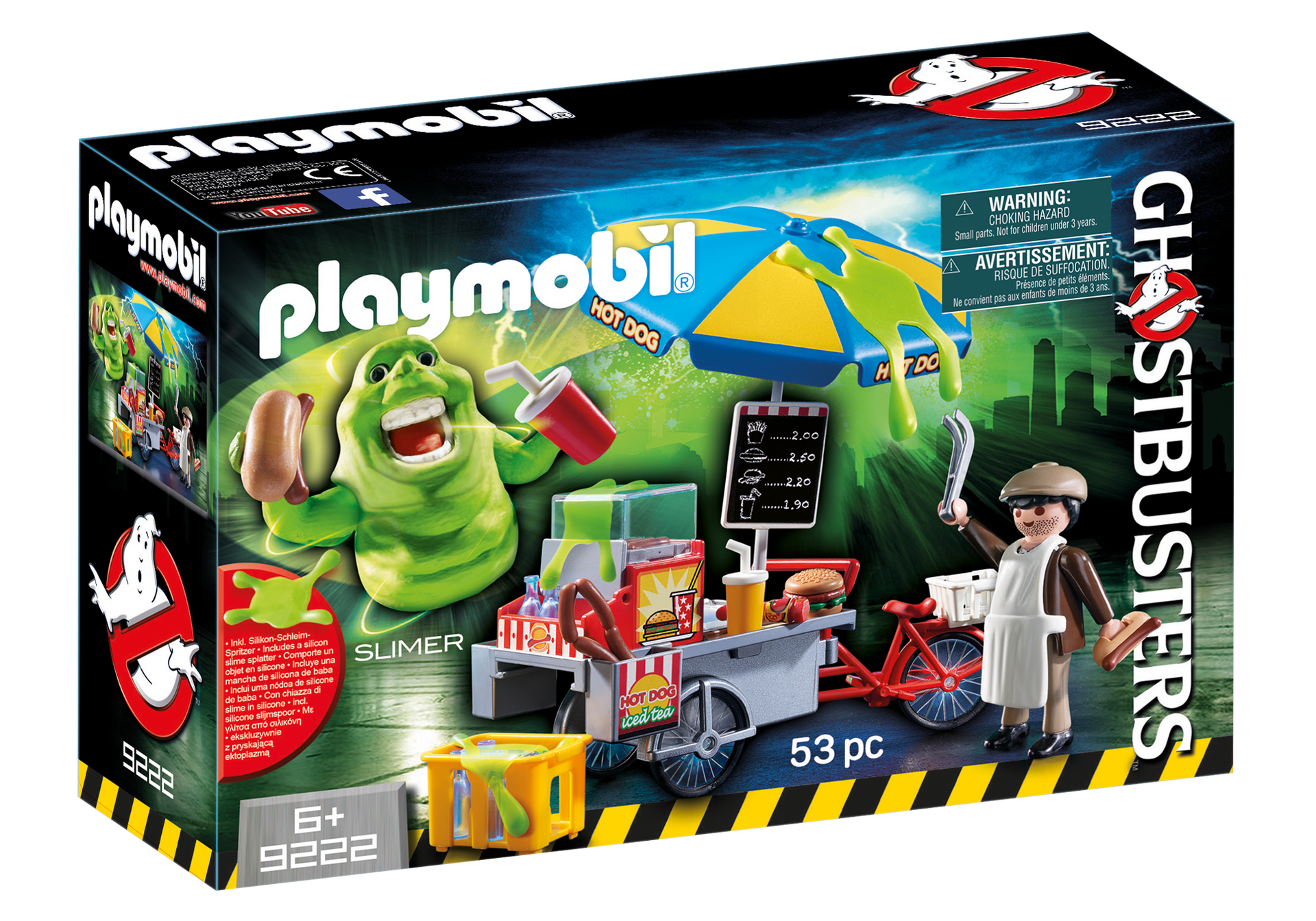 Playmobil - Ghostbusters - Slimer with Hot Dog Stand (9222)