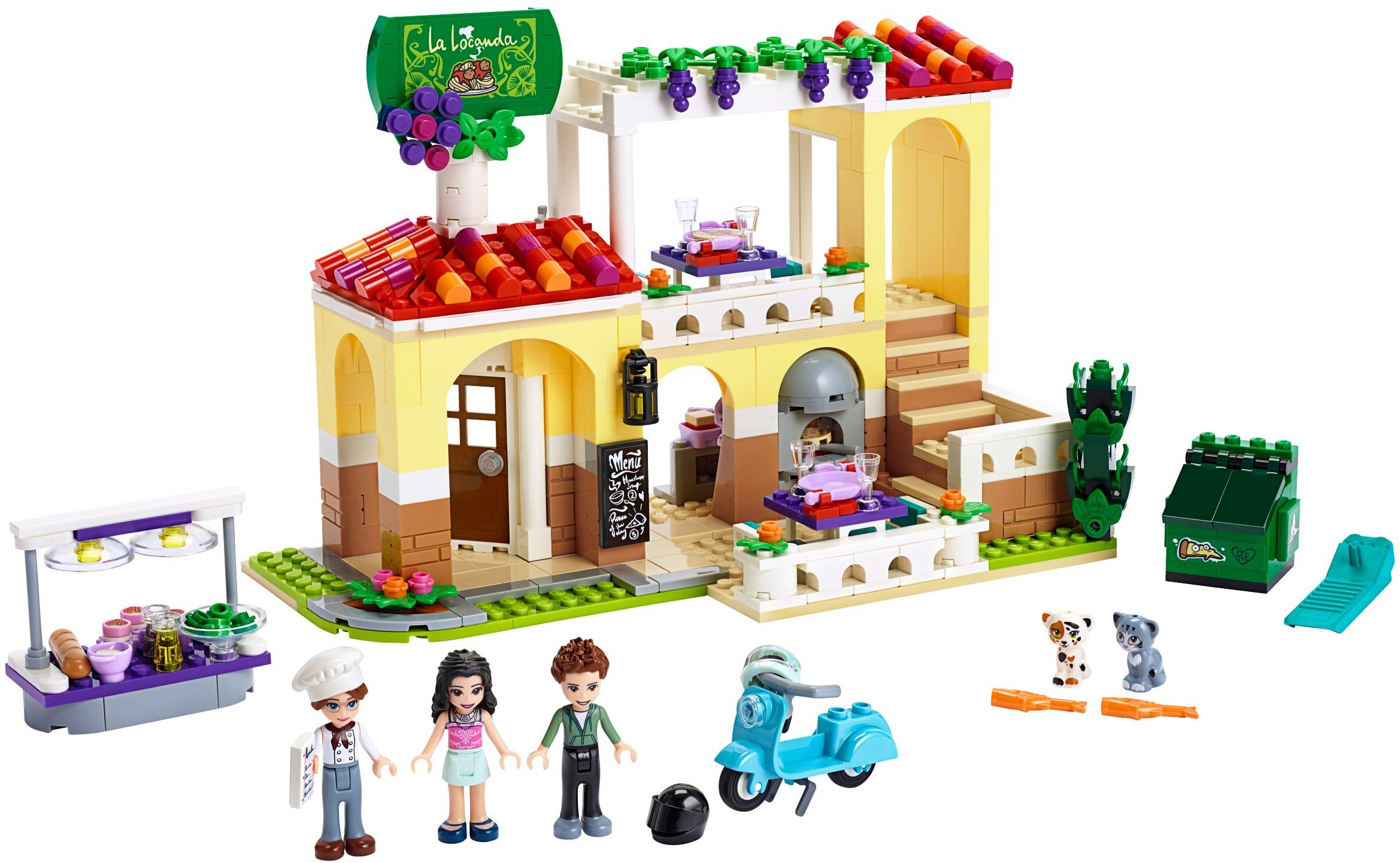 Auto City Lancaster >> Lego Friends Heartlake City Restaurant 41379