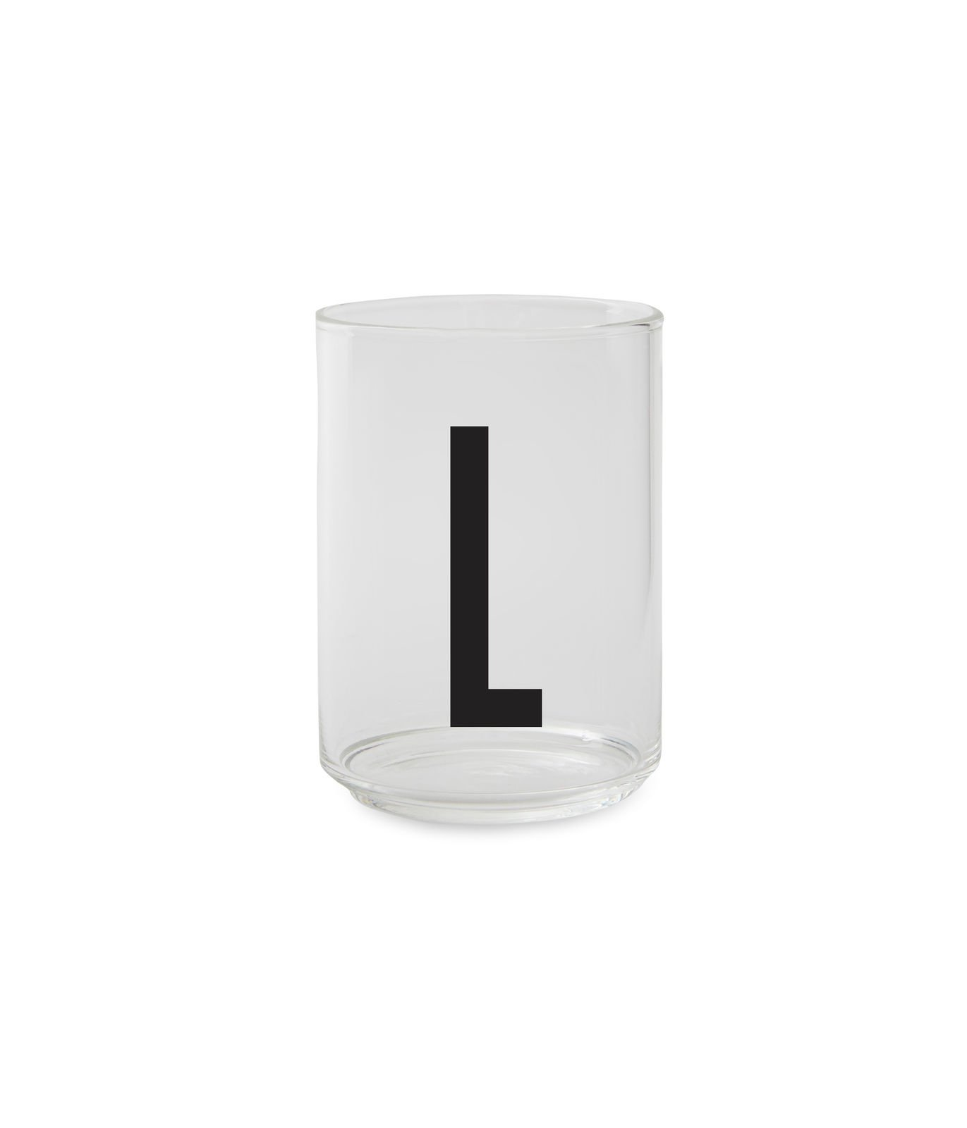 ​Design Letters - Personal Drinking Glass L