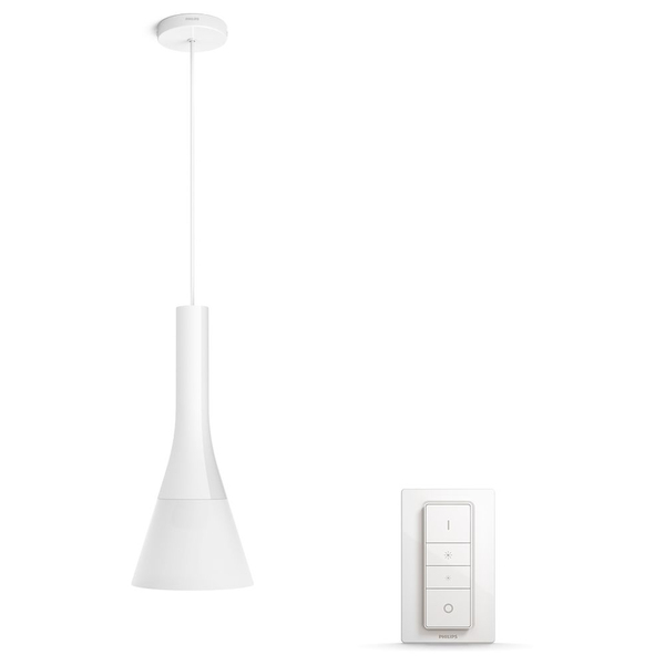 Philips Hue - Explore Pendant Lamp - White - White Ambiance (Dimmer switch Included)