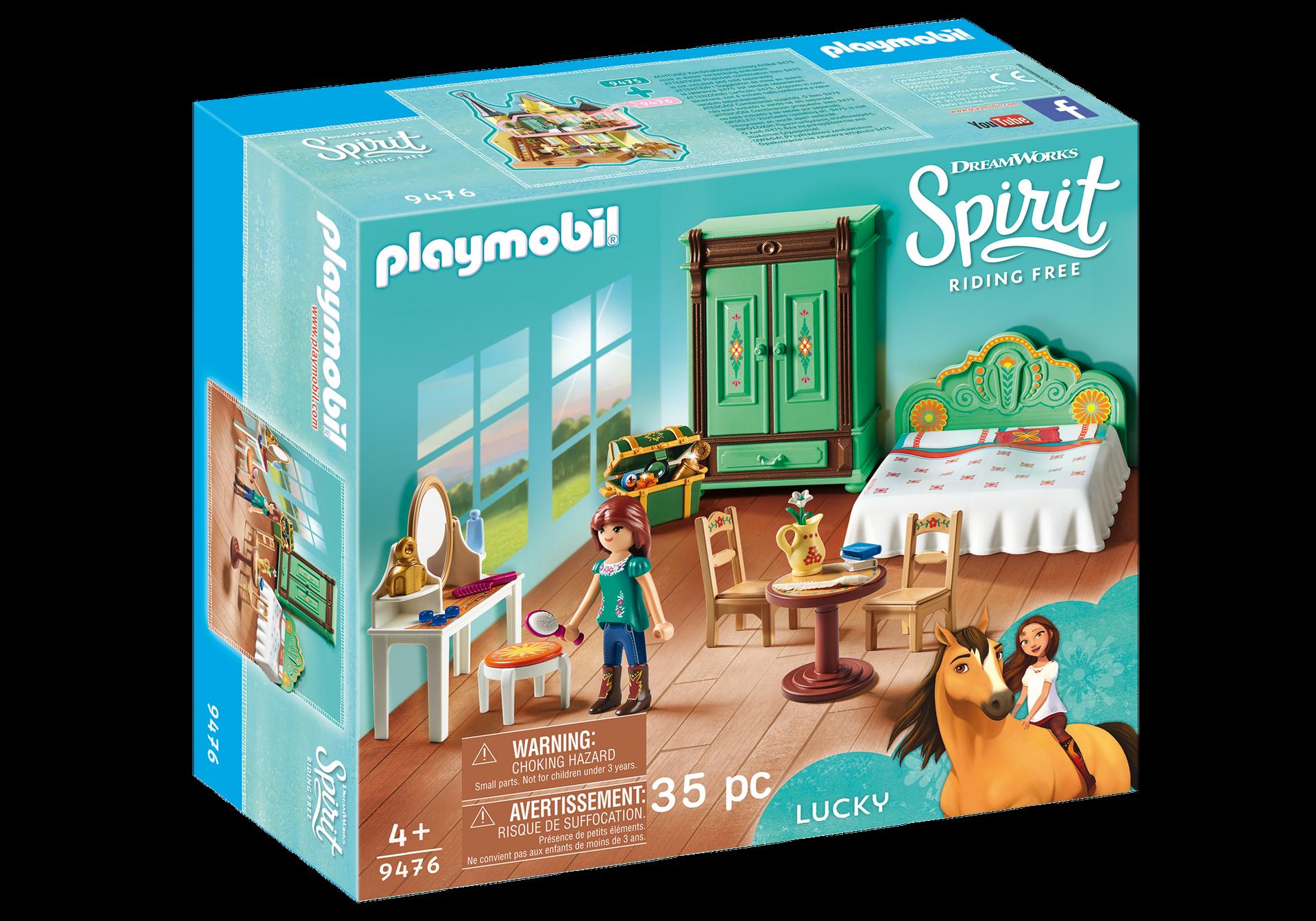 Playmobil - Lucky's Bedroom (9476)