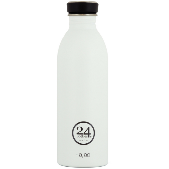 24 Bottles - Urban Bottle 0,5 L - Ice Hvid