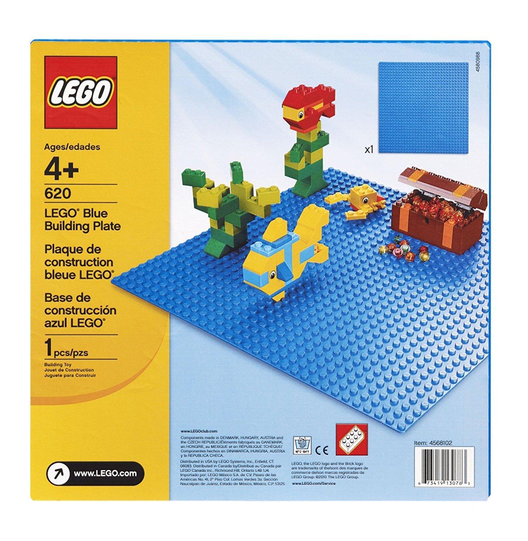LEGO Classic - Blå Byggeplade (10714)