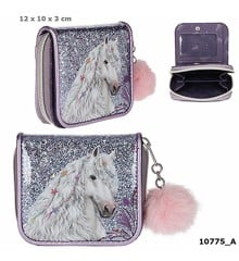 Miss Melody - Wallet w/Glitter - Purple (0410775)
