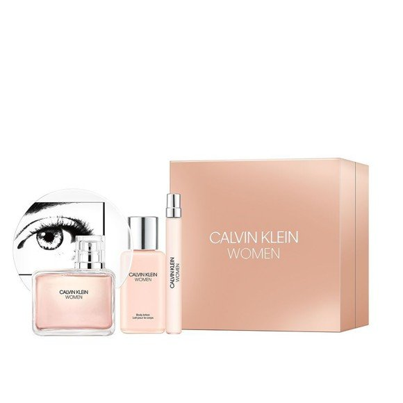 Calvin Klein - Women EDP 50 ml + Body Lotion 100 ml + EDP 5 ml - Giftset