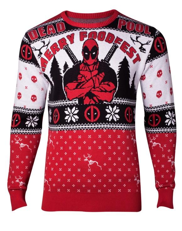 Marvel Deadpool Sweater XXL