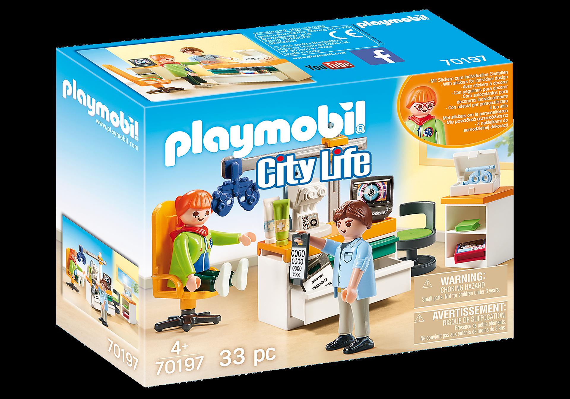 Playmobil - Ophthalmologist (70197)