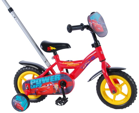 """Volare - Disney Cars 3 Bicycle, Red 10"""" (81048)"""