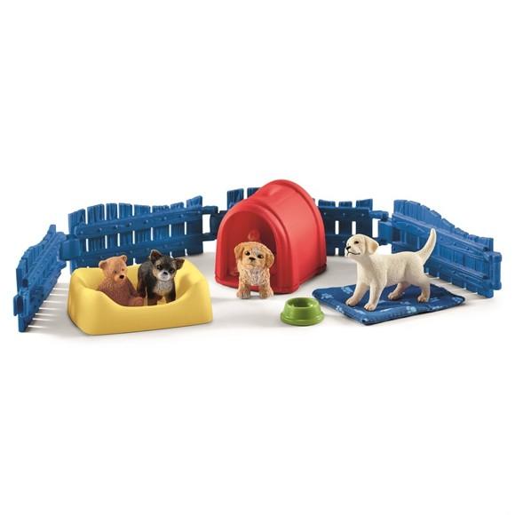 Schleich - Puppy Pen (42480)