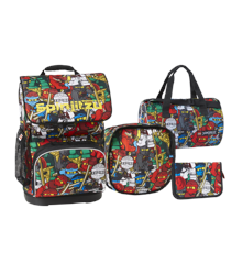 LEGO - Optimo School Bag Set (4 pcs.) - Ninjago - Comic (20097-1806)