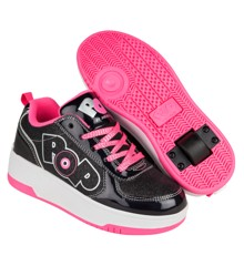 Heelys - Strike - Sort Glimmer/Sort Holo/Pink - Str 30 (POP-G1W-0033)