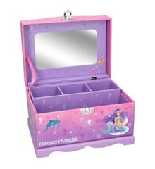 Top Model - Fantasy Model - Jewellery Case With Light Mermaid (0410481)