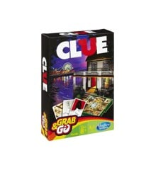 Hasbro Gaming - Cluedo Travel Edition (Nordic) (B0999)