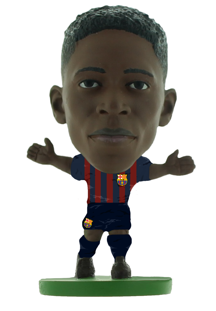 Soccerstarz - Barcelona Ousmane Dembele - Home Kit (2020)