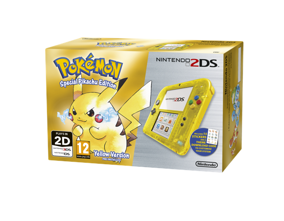 Nintendo 2DS Console Special Edition - Pokémon Yellow Edition