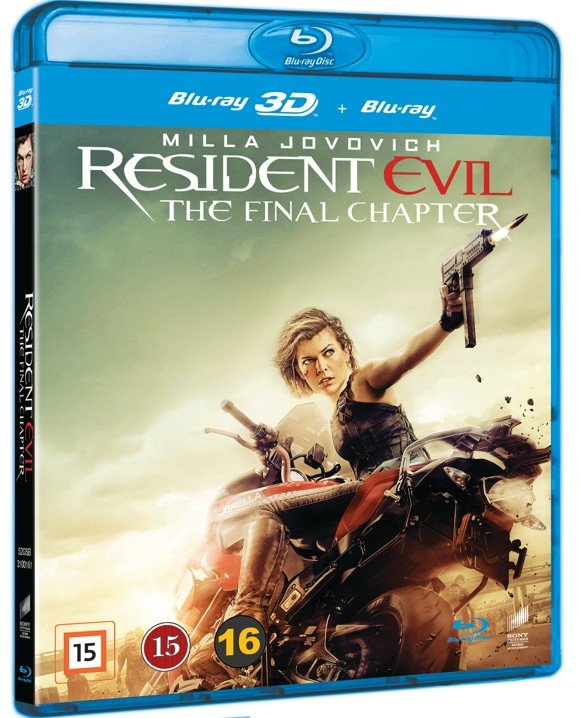 Resident Evil: The Final Chapter (3D Blu-Ray)