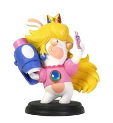 Mario + Rabbids Kingdom Battle 6 Inch Peach Rabbid Figurine