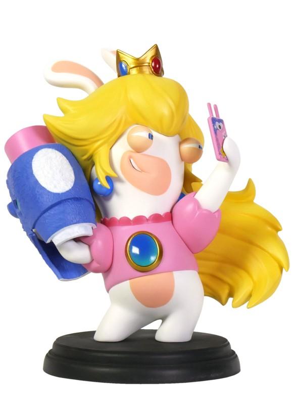 Mario + Rabbids Kingdom Battle 6 Inch Peach Rabbid Figurine