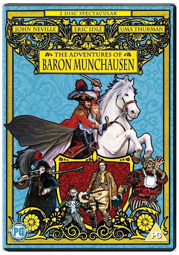 Adventures of Baron Munchausen, The - DVD